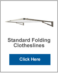 Standard Wall Mounted Folding Clotheslines
