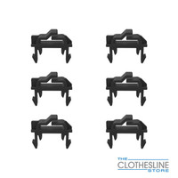 Hills Spare Part - Line Clips Rotary Hoist Pack of 6 FD902506