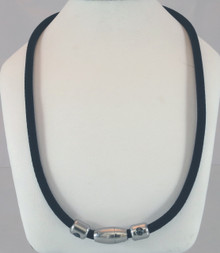 Magnetic Sports Necklace with 5 therapeutic technologies including 100 times strength Carbonized titanium, Germanium, 5000 Gauss magnets. We embed each necklace with Scalar energy and Schumann frequency.