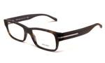 Prada Designer Eyeglasses VPR22R in Matte in Tortoise 54 mm :: Rx Single Vision