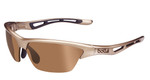 Bollé Golf Sunglasses: Tempest in Sandy White Beige with Modulator V3 Golf Oleo AF Lens