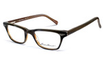 Eddie Bauer Reading Glasses 8281 in Olive