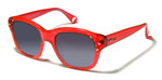 Betsey Johnson 'Double The Love' Designer Sunglasses in Cherry (0136-06)