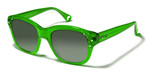 Betsey Johnson 'Double The Love' Designer Sunglasses in Lime (0136-08)