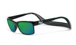 Hoven Eyewear MONIX in Black Gloss with Dark Grey & Green Polarized