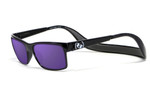 Hoven Eyewear MONIX in Black Turtle with Gloss Grey & Purple Chrome Polarized