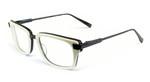 Dita Designer Eyeglasses Bravado 2028F in Bone & Black :: Custom Left & Right Lens
