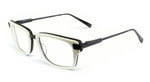 Dita Designer Eyeglasses Bravado 2028F in Bone & Black :: Rx Single Vision