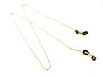 Calabria M-723 Gold Eyeglass Necklace