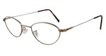 Marcolin Designer Eyeglasses 6395 in Bronze :: Rx Single Vision