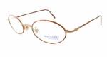 Marcolin Designer Eyeglasses 6454 in Bronze 46 mm :: Rx Single Vision