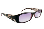 Moda Vision 204 Reading Sunglasses w/ Soft Case in Brown