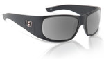 Hoven Eyewear RITZ in Matte-Black with Silver Chrome Polarized