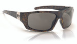 Hoven Eyewear EASY in Emerald Tortoise with Grey Polarized