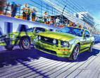 Racing Cars 240-93-1 Artwork Micro Fiber Cleaning Cloth