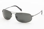 Ono's Longitude Polarized Bi-focal Reading Sunglasses in Gun-Metal Frame