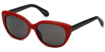Joan Collins JC9955 Designer Sunglasses in Red/Black
