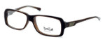 Bollé Dreux Designer Reading Glasses in Brown Stripe