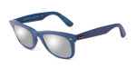 "Ray-Ban 2140-611330 Designer Sunglasses Classic Wayfarer Special Edition ""Cosmo"" MERCURY Color"