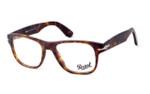 Persol 3051 Designer Reading Glasses in Matte Tortoise 54mm (9001)