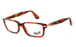 Persol 2965 Designer Reading Glasses in Red Tortoise (978) :: Rx Single Vision