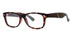 Calabria Soho 101 Tortoise Designer Eyeglasses :: Custom Left & Right Lens