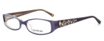 bebe Womens Designer Eyeglasses 5040 in Amethyst :: Rx Single Vision