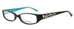 bebe Womens Designer Eyeglasses 5040 in Jet :: Rx Single Vision