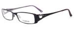 bebe Womens Designer Eyeglasses 5014 in Ruby