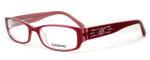 bebe Womens Designer Eyeglasses 5031 in Rose