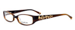 bebe Womens Designer Eyeglasses 5040 in Smoked Topaz
