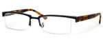 Harry Lary's French Optical Eyewear Ministry Eyeglasses in Black & Tortoise (152) :: Custom Left & Right Lens