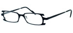 Harry Lary's French Optical Eyewear Terrory in Black (101) :: Custom Left & Right Lens