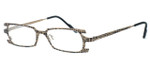 Harry Lary's French Optical Eyewear Terrory in Bronze Black (506) :: Custom Left & Right Lens