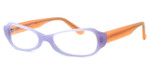 Harry Lary's French Optical Eyewear Tori in Lilac Peach (53D) :: Custom Left & Right Lens