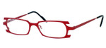Harry Lary's French Optical Eyewear Terrory in Red (360) :: Progressive