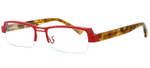 Harry Lary's French Optical Eyewear Trophy in Red Tortoise (360)