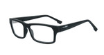 Wiley-X Profile Optical Eyeglass Collection in Matte-Black (WSPRF01) :: Rx Single Vision