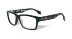 Wiley-X Contour Optical Eyeglass Collection in Gloss-Demi-Black (WSCON06) :: Progressive
