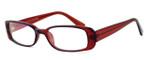 Moda Vision 8004 Designer Eyeglasses in Wine :: Custom Left & Right Lens