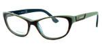 Diesel DL5039 Optical Eyeglass Collection in Tortoise & Green (056)