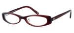 "Banana Republic ""Breanna"" Designer Eyeglasses in Wine (EPE) :: Rx Bi-Focal"