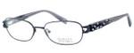 Badgley Mischka Marielle Designer Eyeglasses in Black :: Custom Left & Right Lens