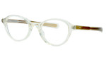 Oliver Peoples Optical Eyeglasses Rowan BECR/SYC in Crystal :: Rx Single Vision