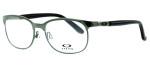 Oakley Optical Eyeglass Collection Descender 3124 in Black Chrome (0553) :: Progressive