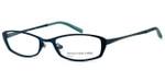 Jones New York Designer Eyeglasses J122 Teal :: Custom Left & Right Lens