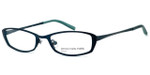Jones NY Designer Eyeglasses J122 in Teal :: Progressive