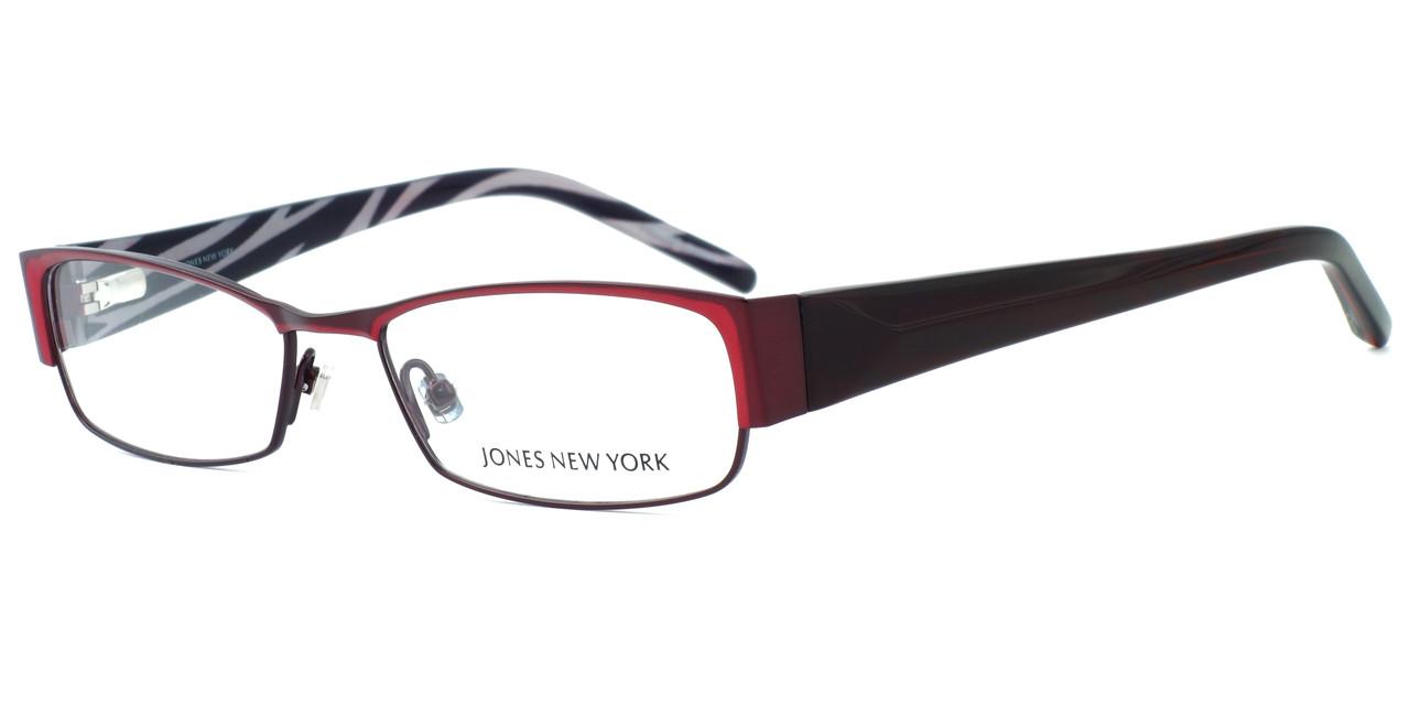 Jones New York Designer Eyeglasses J446 Wine :: Rx Single ...