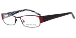 Jones NY Designer Eyeglasses J446 in Wine :: Rx Bi-Focal