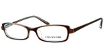 Jones NY Designer Eyeglasses J725 in Brown :: Rx Bi-Focal